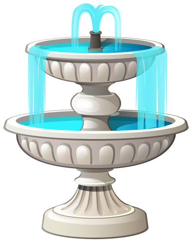 Water fountain png. Clipart clip art out