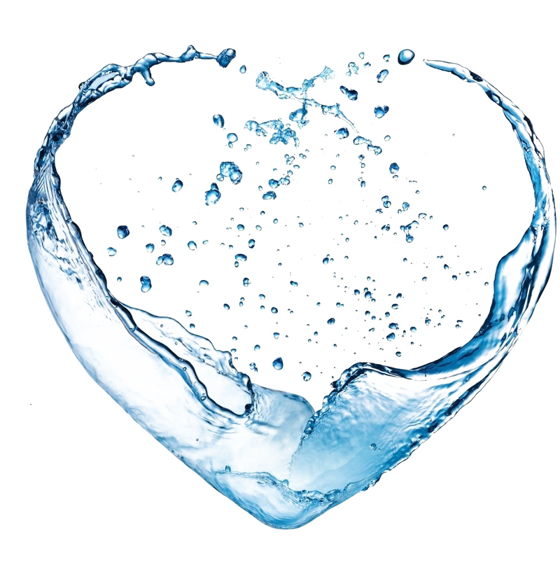 Coconut drinking ionizer crystal. Water heart png banner royalty free download