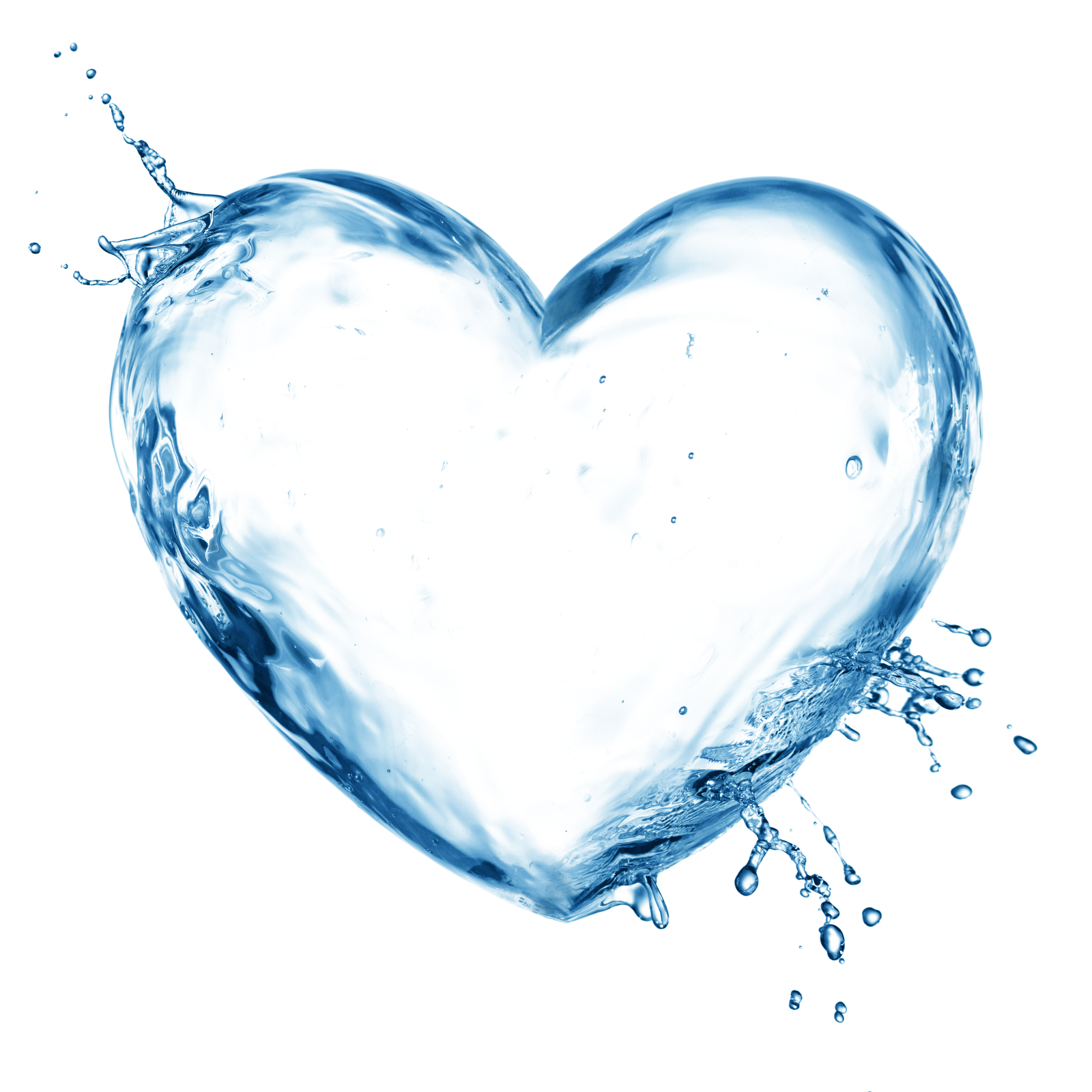 Marcos gratis para fotos. Water heart png clip black and white library