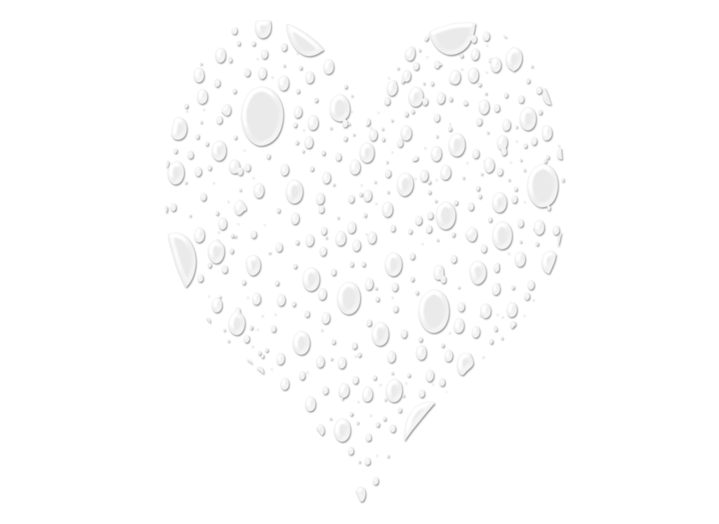 Drop by moonglowlilly on. Water heart png vector freeuse library