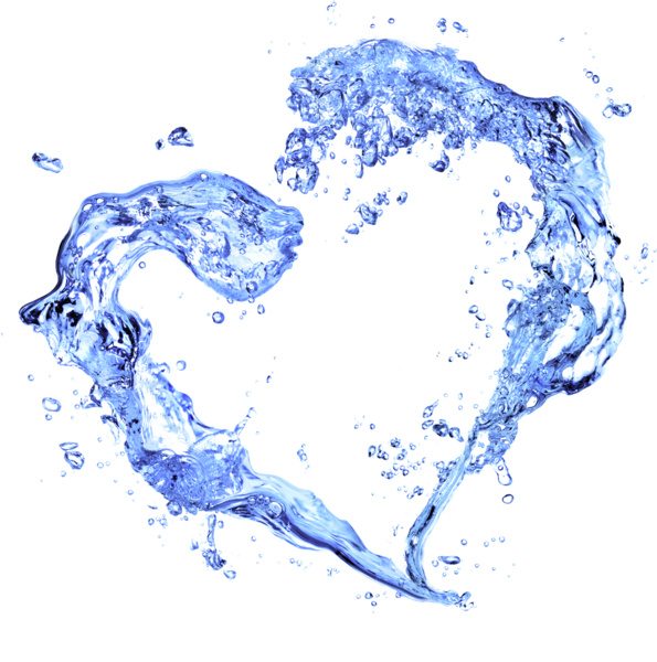 Water heart png. Splash psd official psds