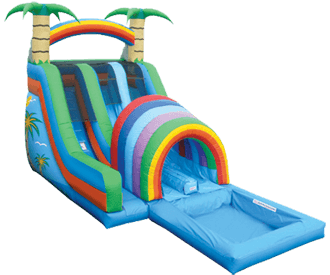 Water slide png. Richmond tropical double funnel