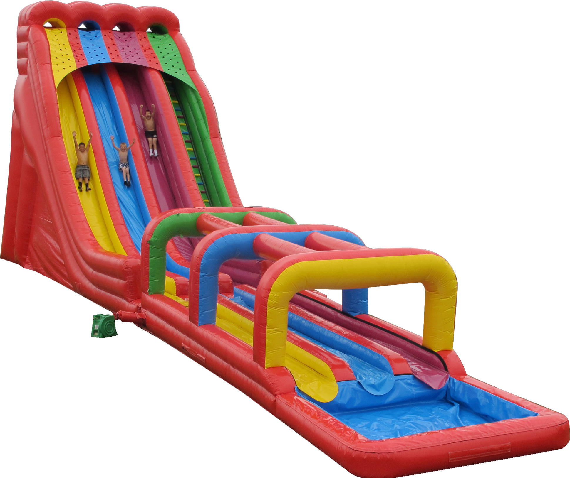 Water slide png. Bounce houses for rent