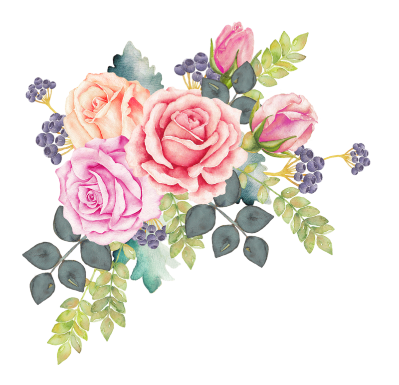 f c a. Pink watercolor flower png svg free library
