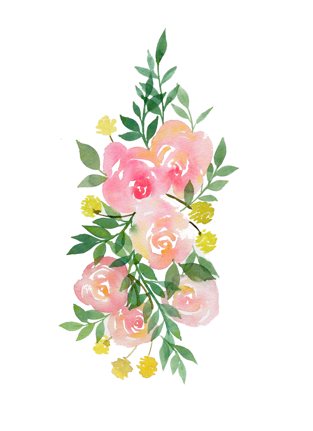 Pink watercolor flower png. Image alanisidethingy animal jam