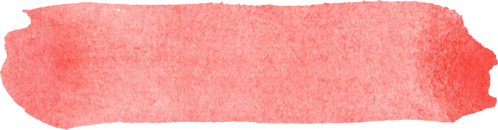 Watercolor brush stroke png. Red banner transparent