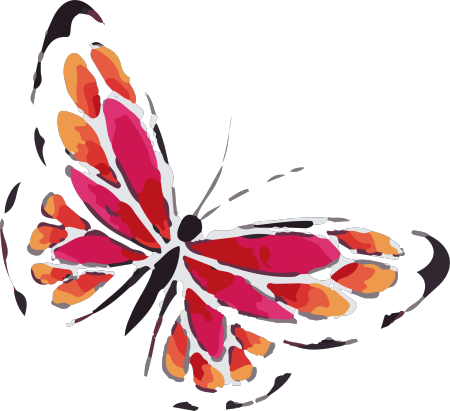 Watercolor butterfly png. Collection of clipart