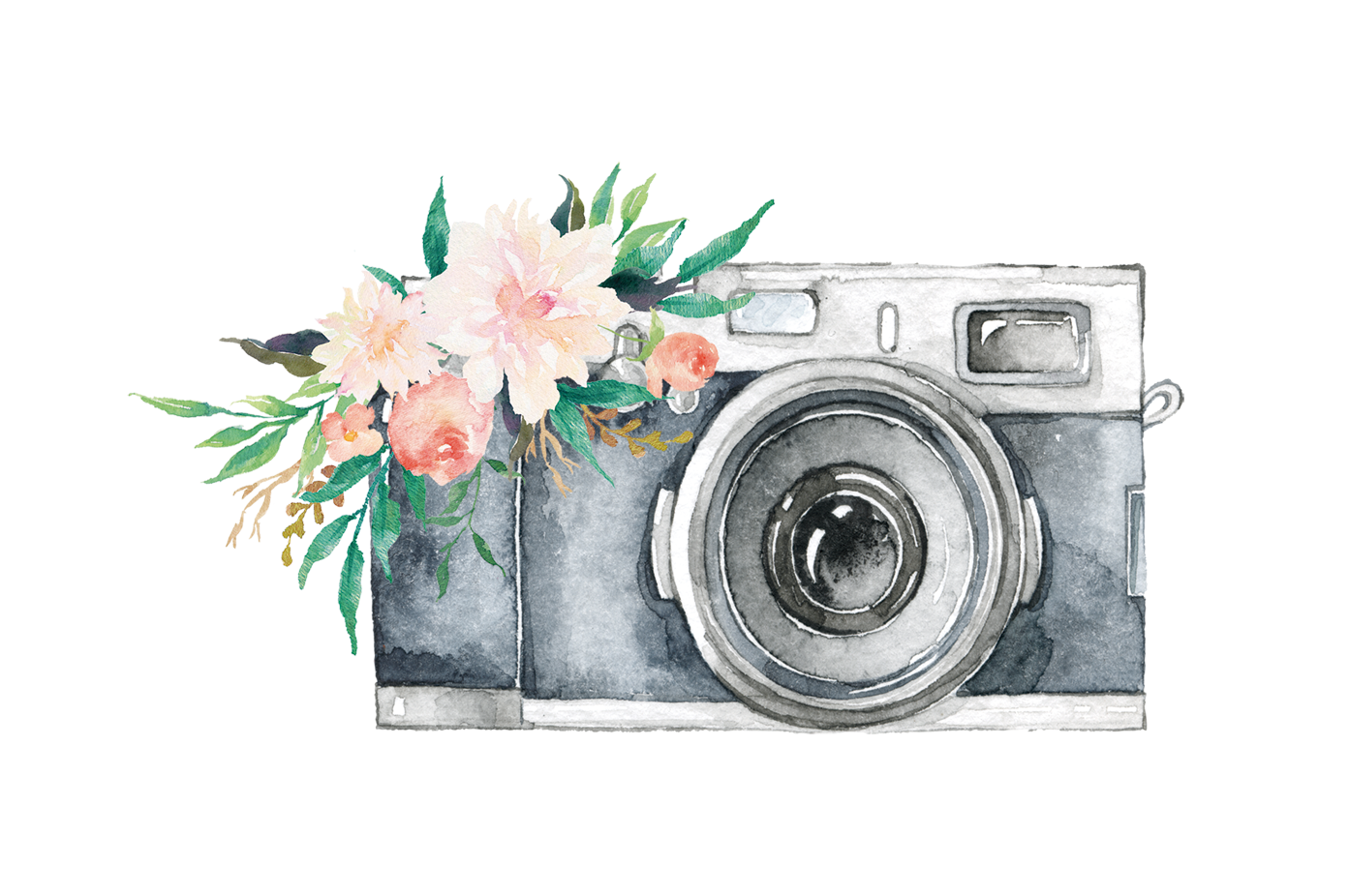 water color camera png