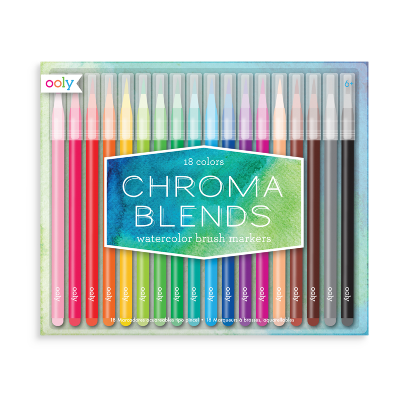 Watercolor camera png. Chroma blends brush markers