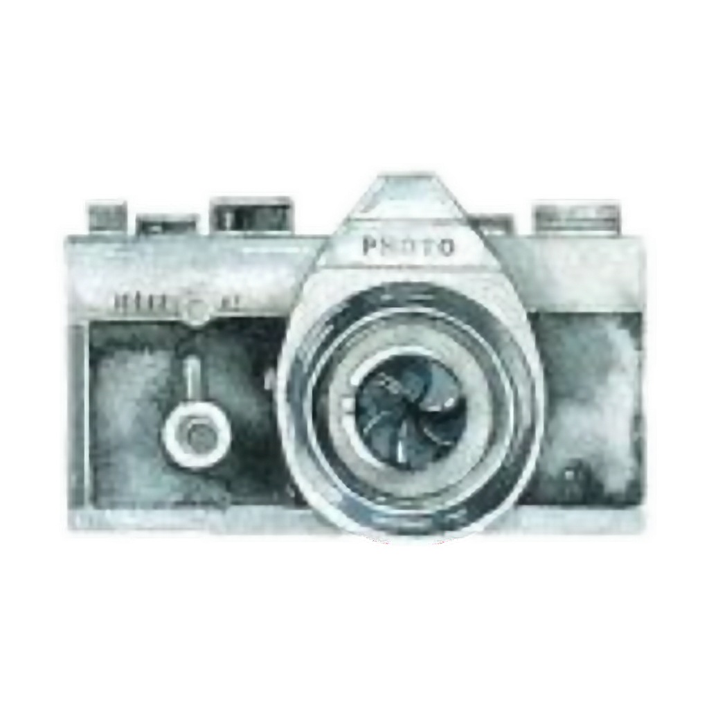 Watercolor camera png. Ftestickers sticker by pennyann