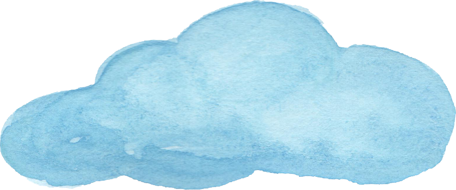 Watercolor clouds png. Transparent vol onlygfx