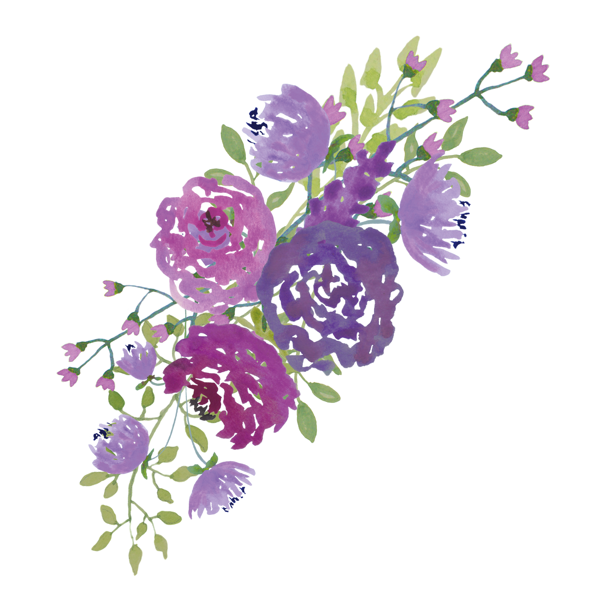 watercolor wedding png