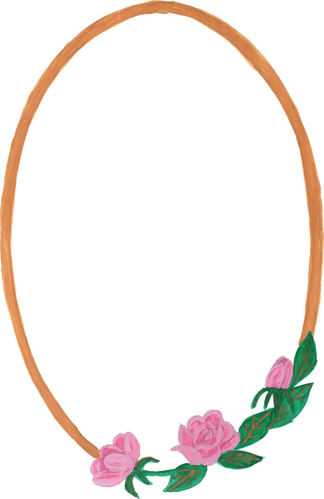 Watercolor frame png. Picture frames oval clip