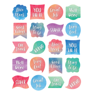 Watercolor labels png. Stickers cm classroom environments