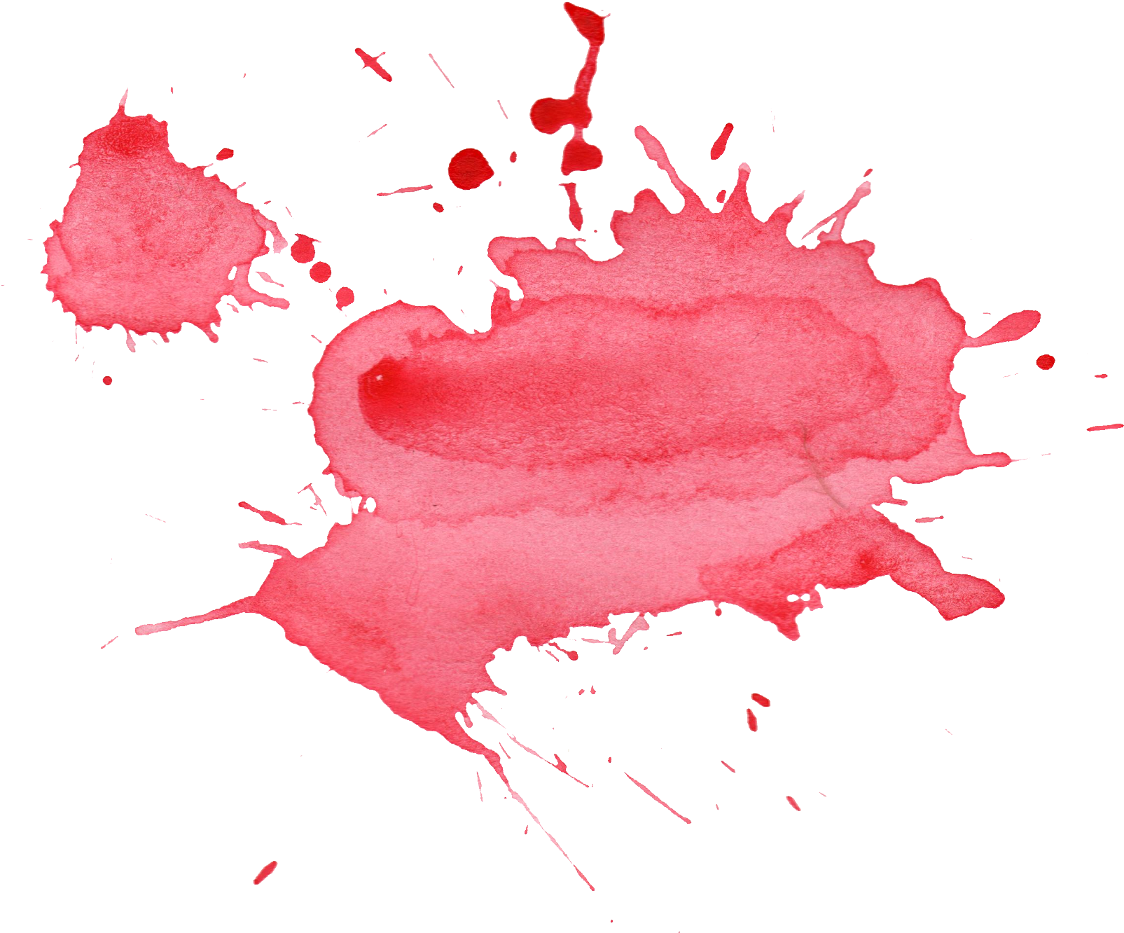 Watercolor stain png. Download free red image