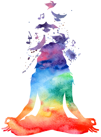Watercolor yoga png. Imbue minneapolis studio health