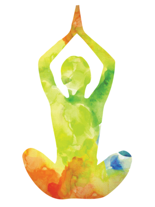Watercolor yoga png. Is a treatment for