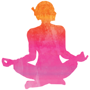 Watercolor yoga png. Goddess girls create your