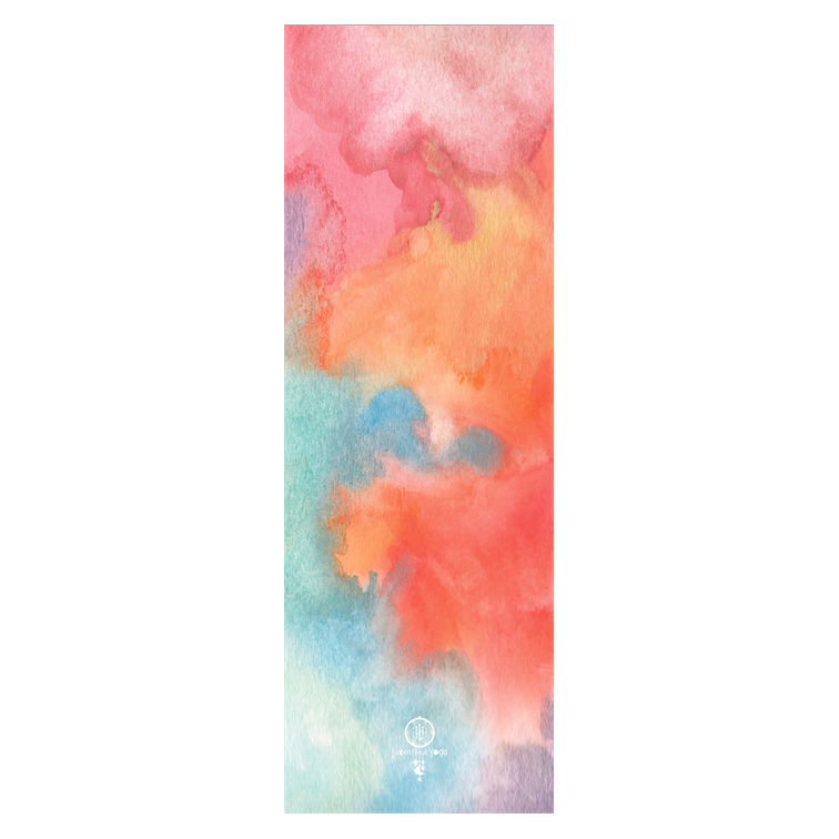 Watercolor yoga png. Lucent hue esme