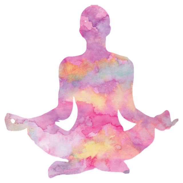 Watercolor yoga png. Studio classes private melissa