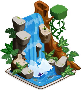 waterfall clipart png