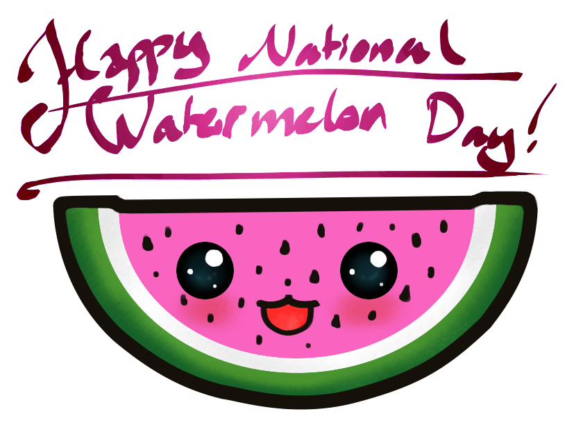Watermelon clipart smiling watermelon. National day images and