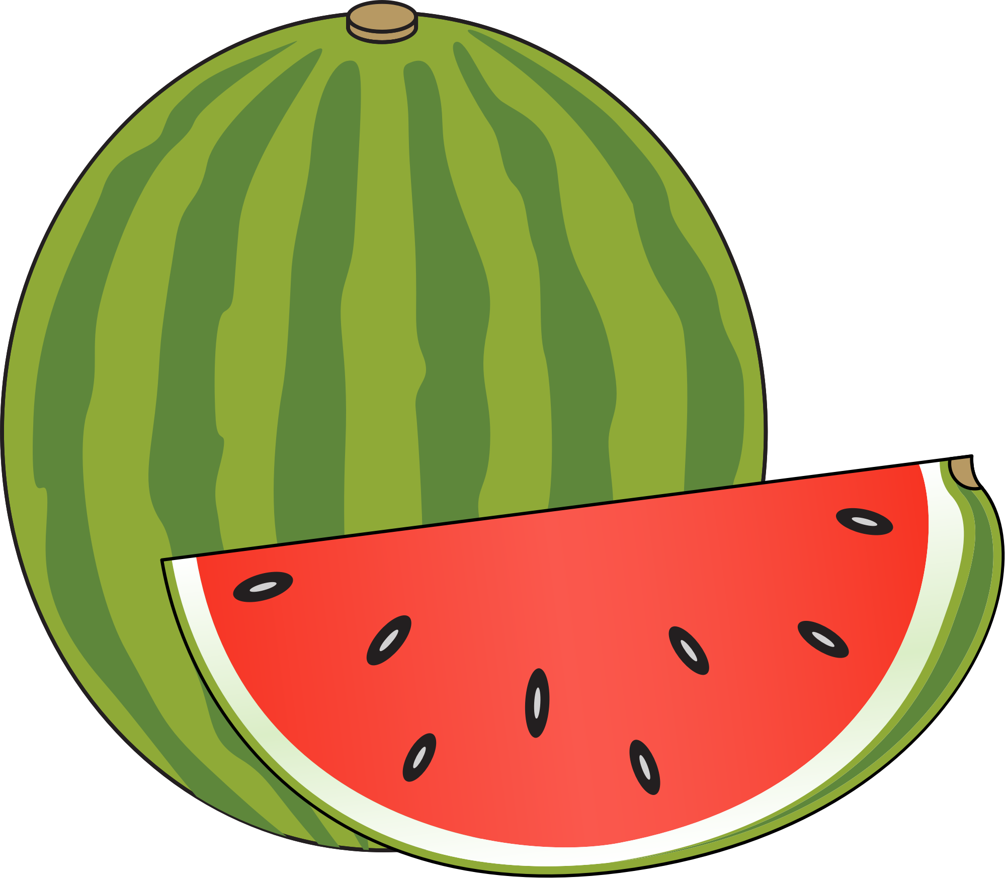 Watermelon clipart smiling watermelon. Free watermellon pictures download