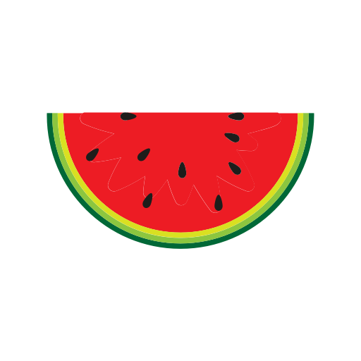 Watermelon png cartoon. Icon page ico