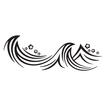Wave clip black and white. Png transparent images ocean