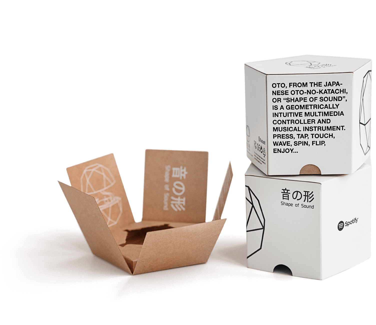 Wave clip carton. Packhelp pro custom packaging