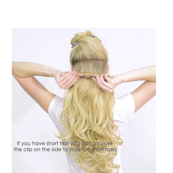 extension clip ponytail