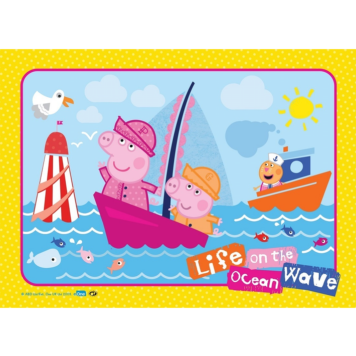 Wave clip kid. Holdson frame tray puzzle