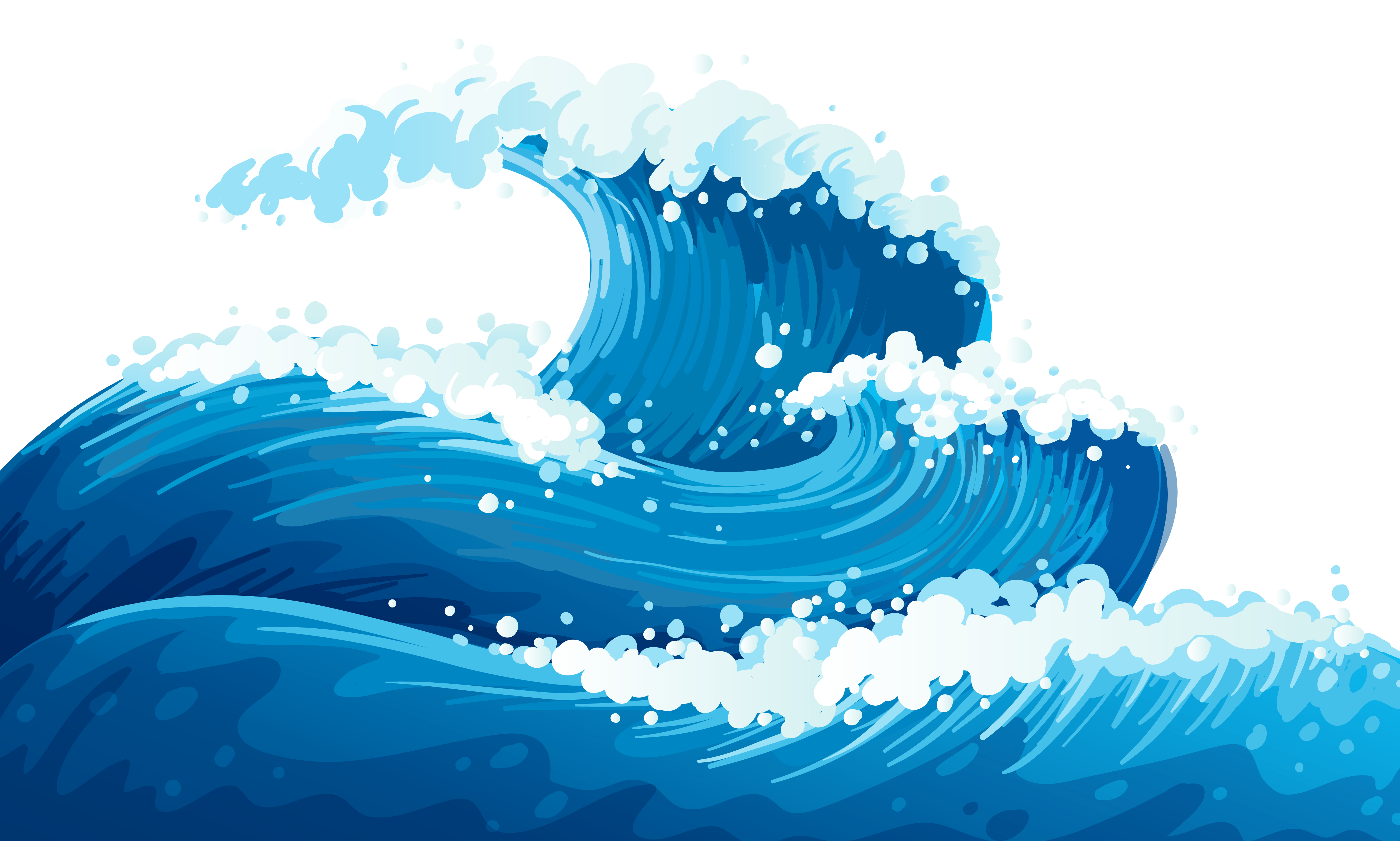 Wave clip printable. Waves art arts for