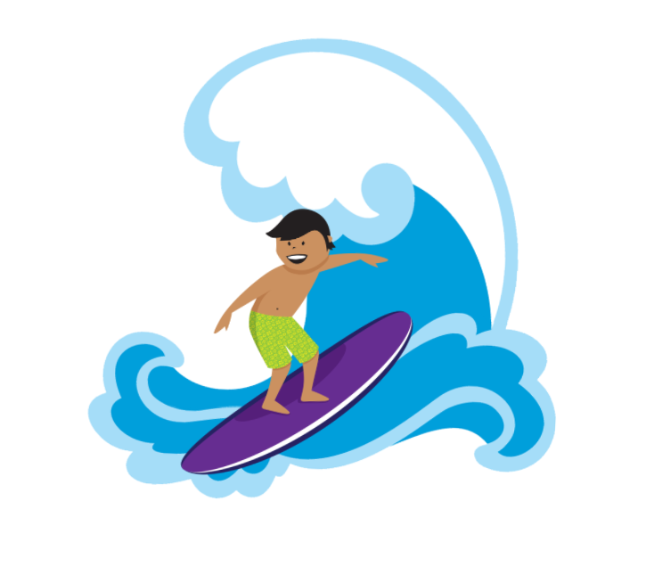 Wave clip surf. Fact surfer learn safe