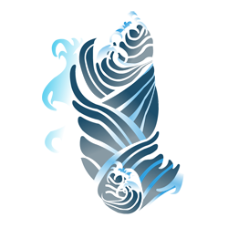 Wave tattoo png. Japanese clipart images gallery