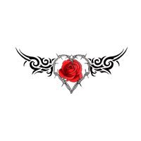 Wave tattoo png. Download rose free photo