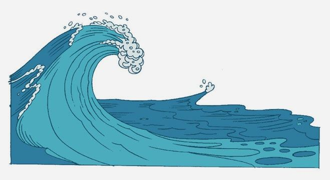 Waves clipart air wave. Best images on
