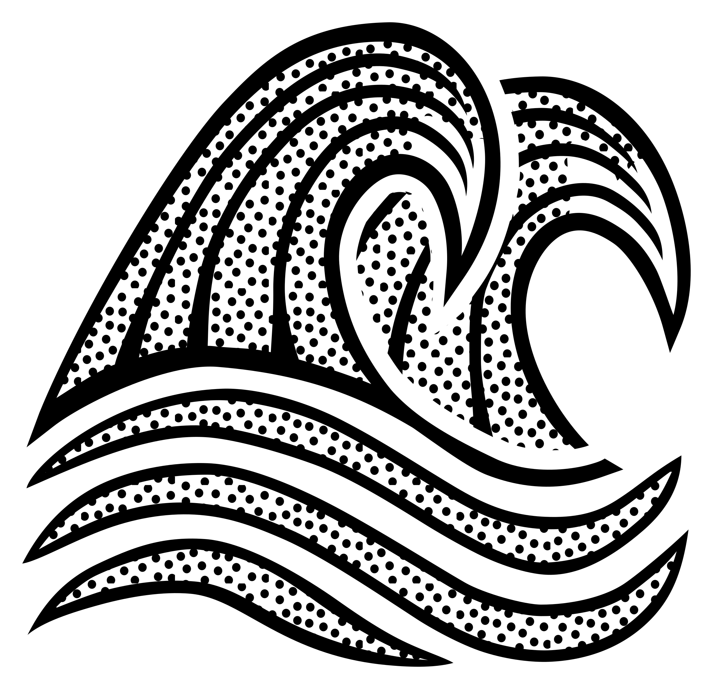 great wave png