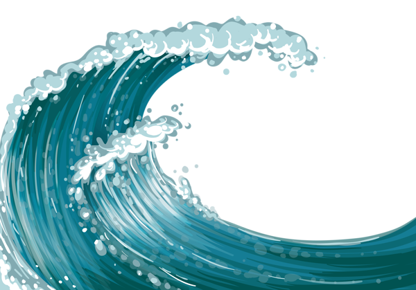 Vector sand wave. Sea png clipart pinterest