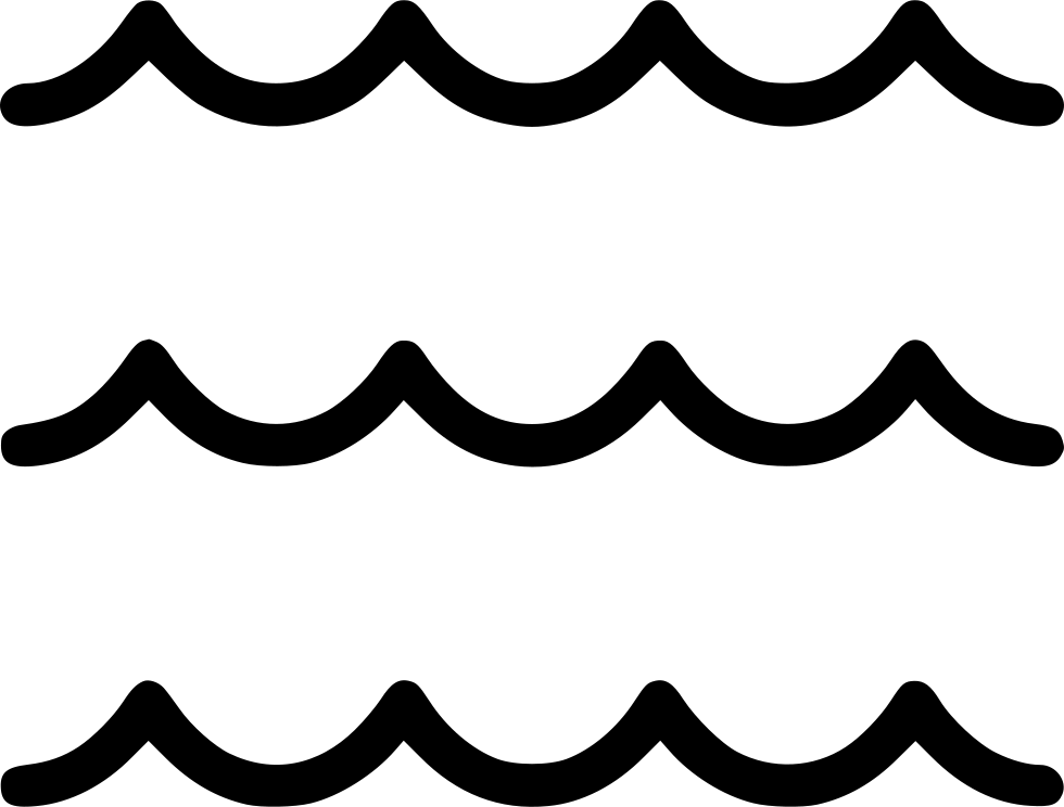 Waves icon png. Sea svg free download