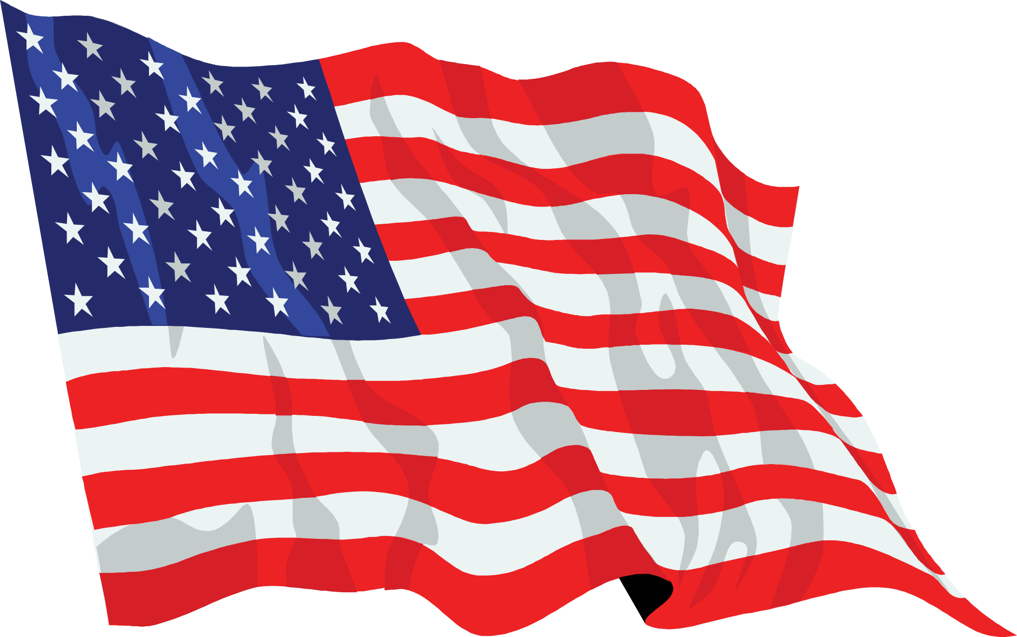 United states waving icon. American flag png file png transparent