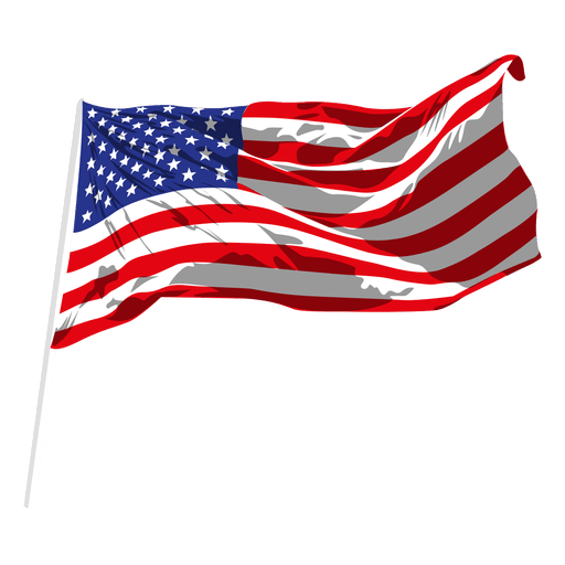 Usa waving flag transparent. Svg flags picture royalty free