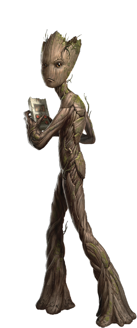 groot transparent mcu