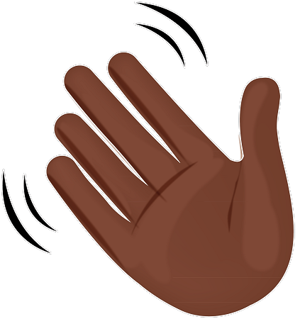 Hand wave png. Look it up wavy