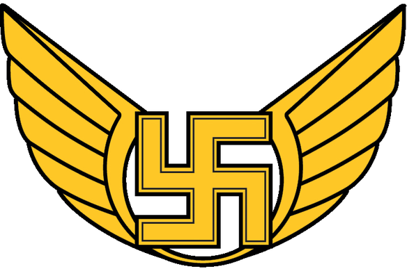 Nazi transparent roundel. Should the air force