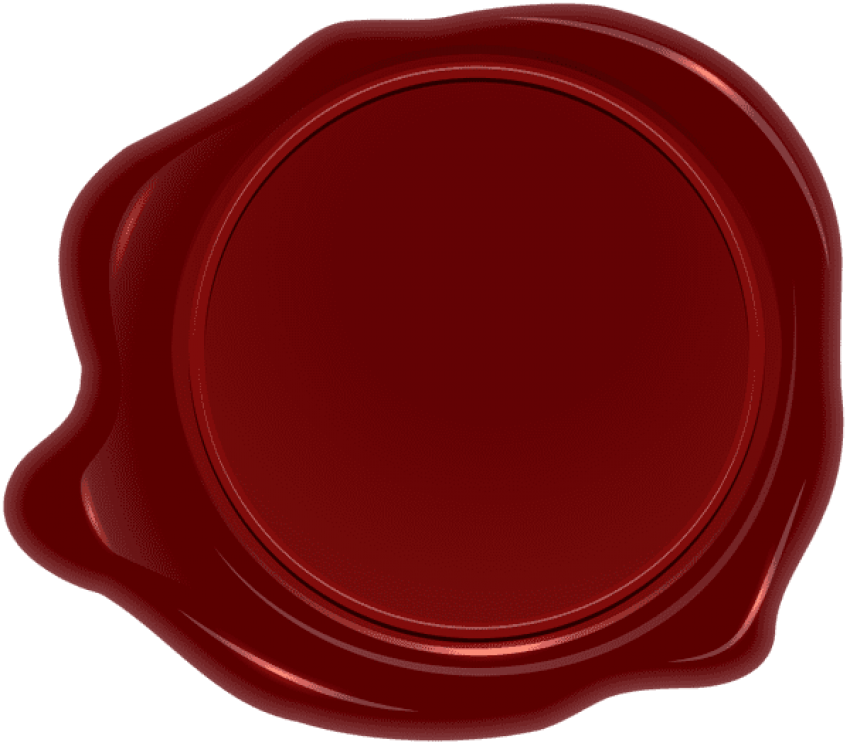 Transparent wax red. Download stamp png clipart