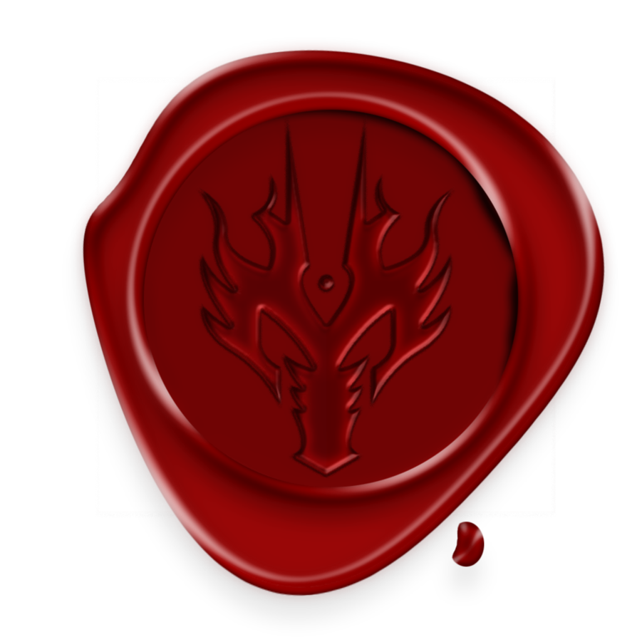 Wax stamp png. Nitwit seal by quelux