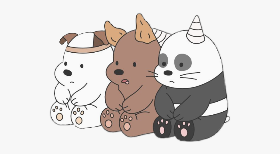 We Bare Bears. Little dogs ears