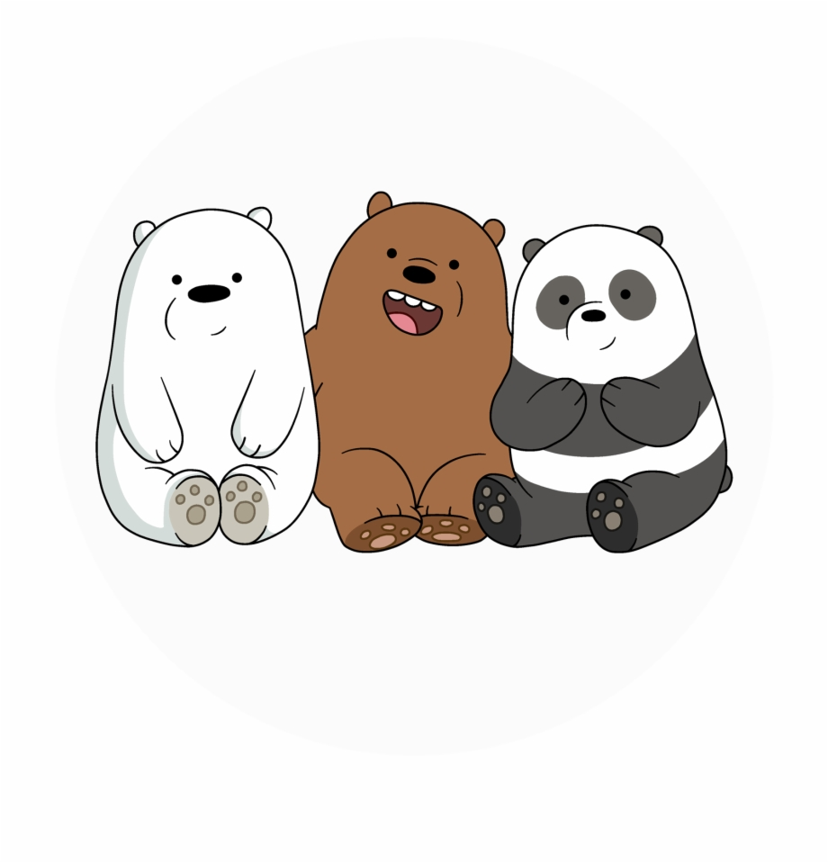 We Bare Bears. Gambar free png images