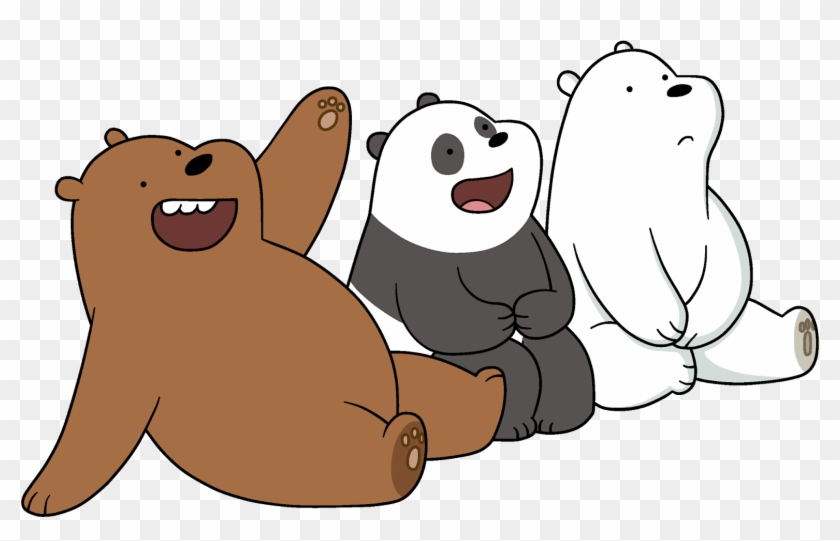 We Bare Bears. Png pack happy transparent